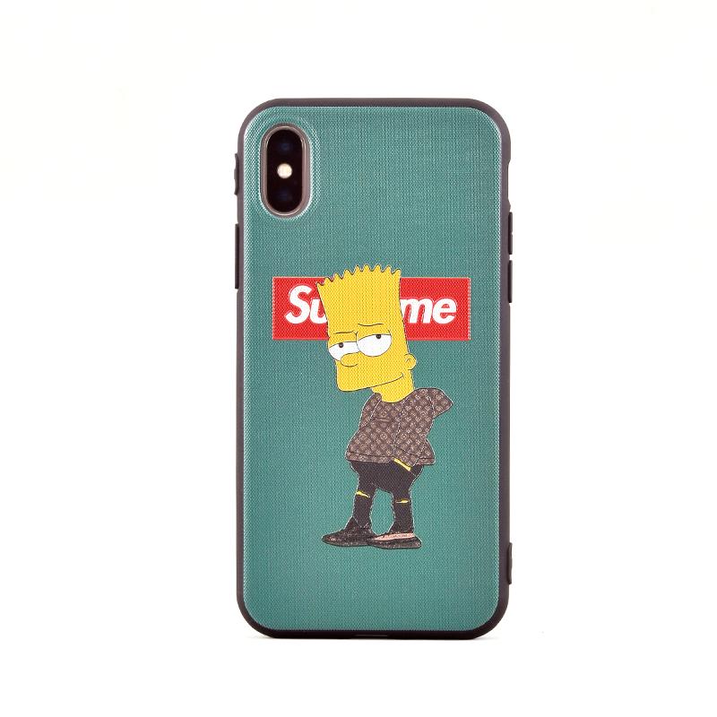 32fbdbe598f Qeis - ¡El mejor precio en Funda Supreme Bart Simpson Verde para ...